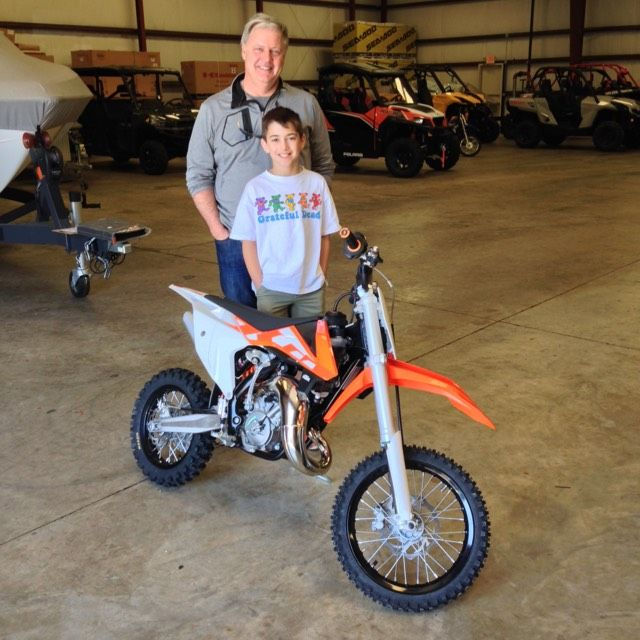 Thanks To Lee And Lach Thornton For Getting A 2016 Ktm 65 Sx At