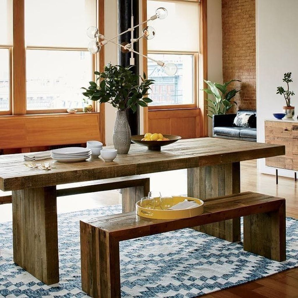 Awesome extendable farmhouse table design ideas for your