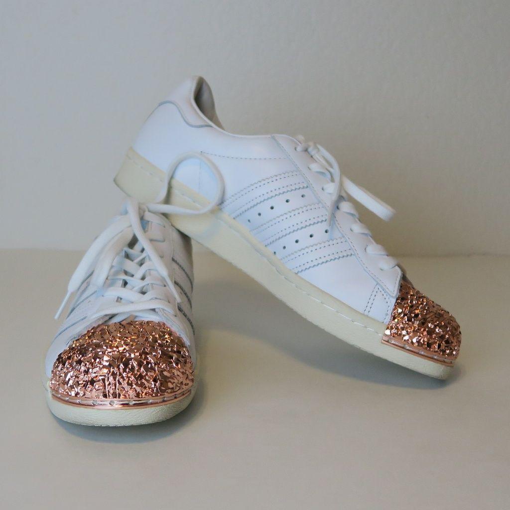 adidas originals rose gold toe
