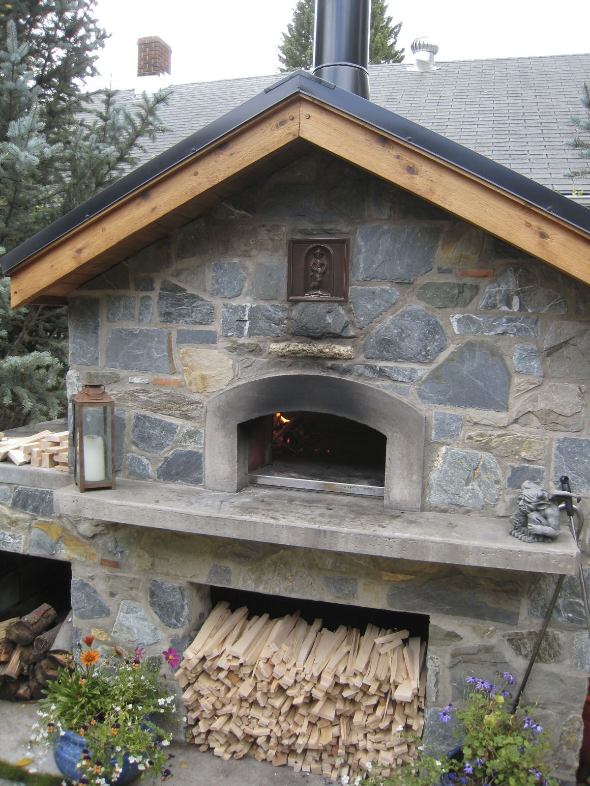 Outdoor Kitchen Selber Bauen Wood Fired Oven | Marilyn's Blog: Wood Fired Pizza And