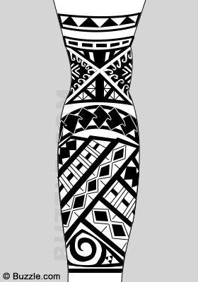 Samoan Tattoo Designs Tattoo Maori Perna Tatuagem Maori Braco E