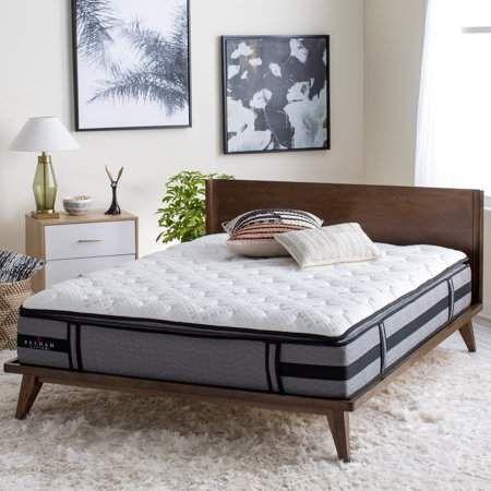 Belham Living 12  Cooling Gel and Latex Memory Foam Hybrid Mattress #pillowtopmattress