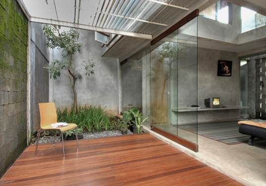 Natural Ventilation Sustainable Building Indonesia Green Homes - Modern house jakarta