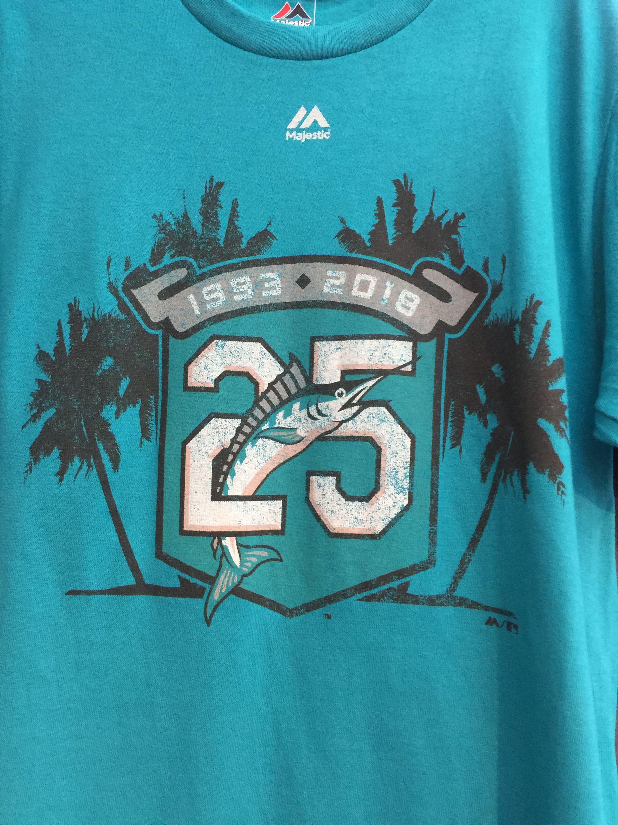 23ace2996a04fb Marlins 25th Miami Marlins