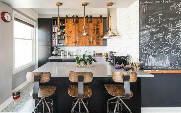 100 Kücheneinrichtung Beispiele mit industriellem Look | Kitchens