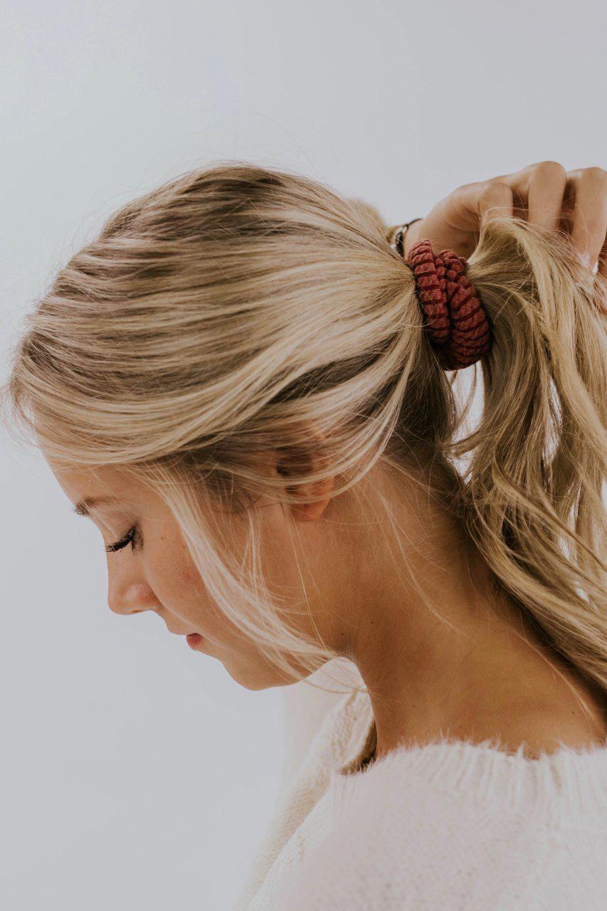 Darci Knit Scrunchie Headband Hairstyles Hair Styles