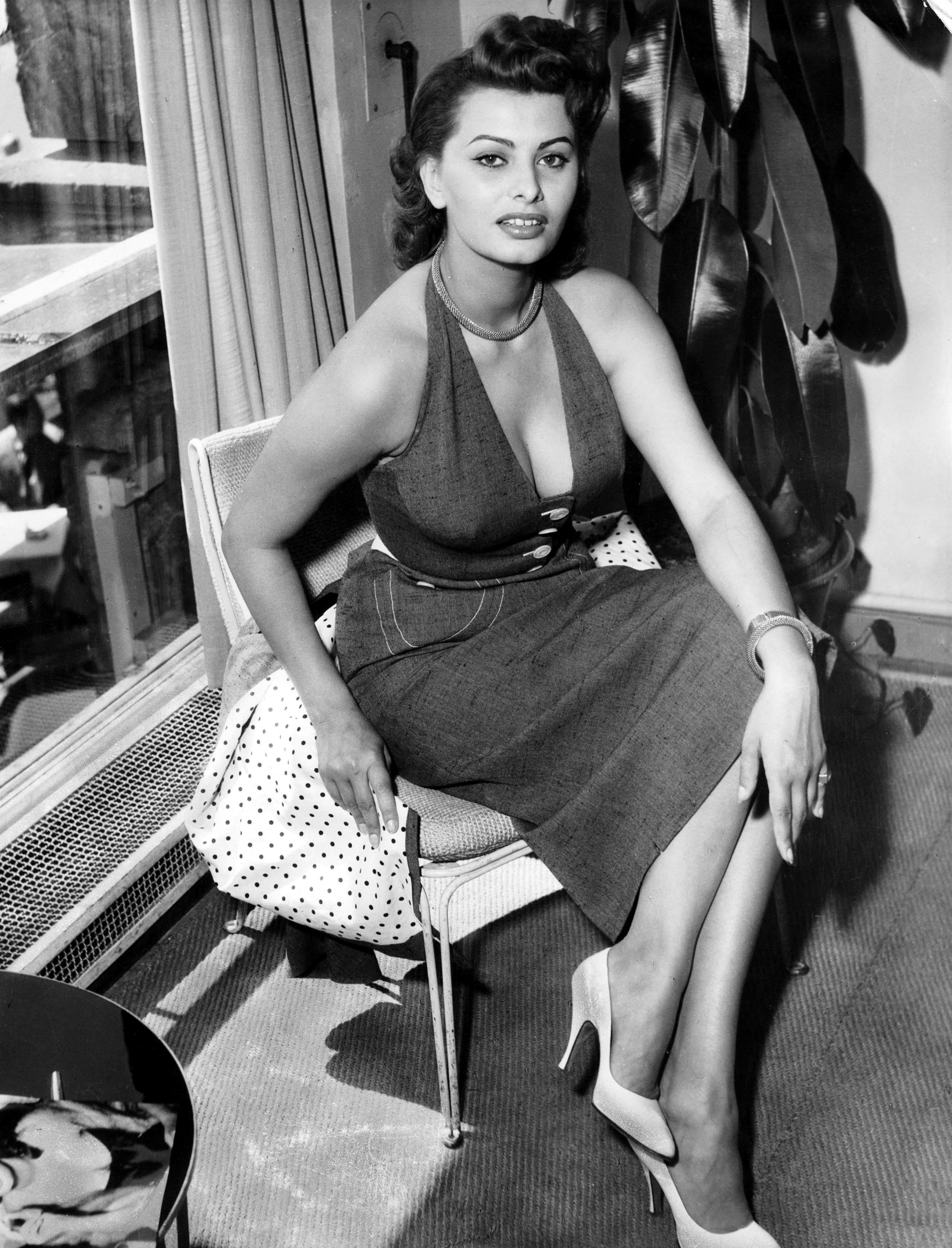 Sophia Loren Actrices Estilo De La Mujer Italiana Sofia Loren