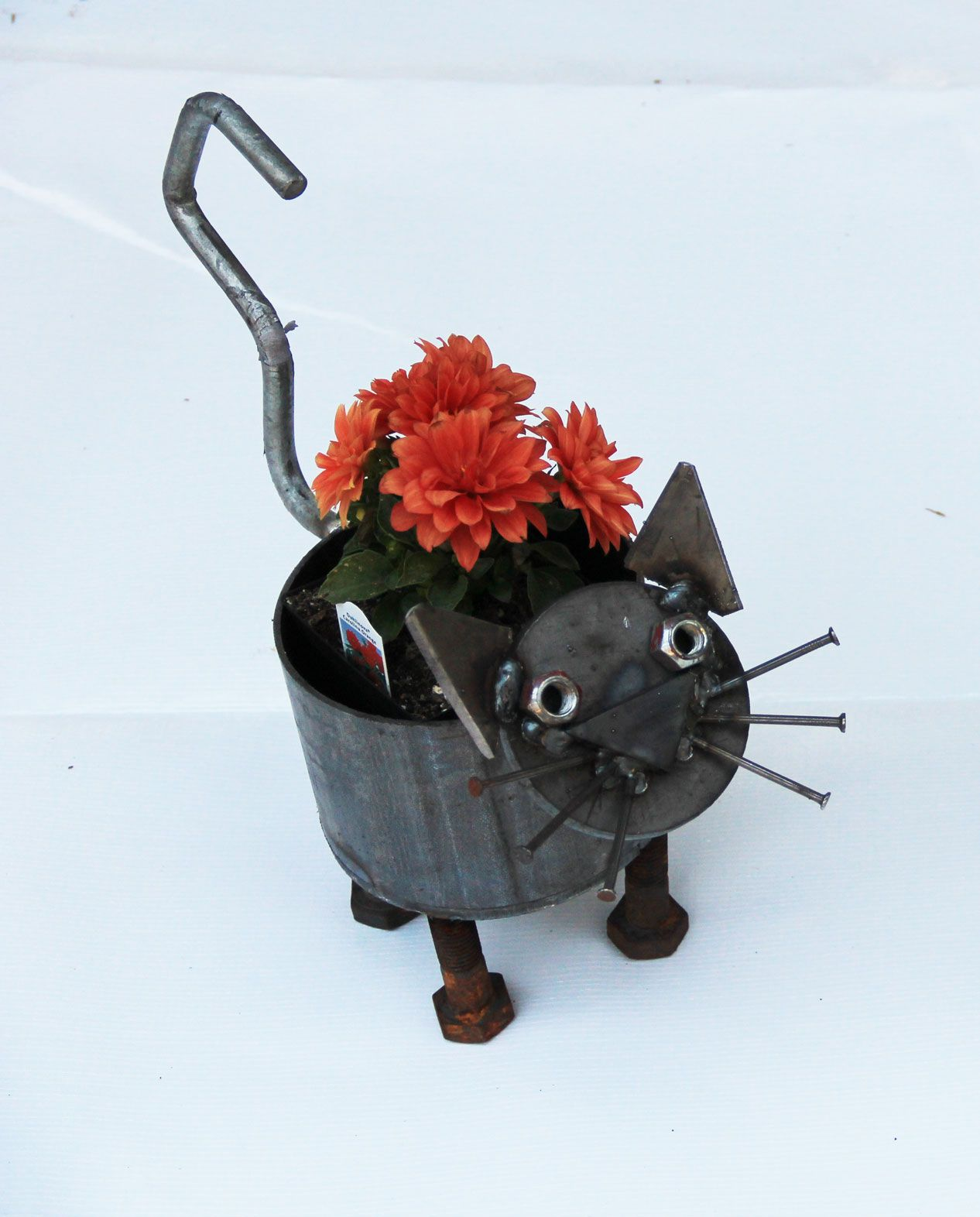 Metal Dog Planters Pin By Crysten Nesseth On Iron Maid Art Metal Sculpture