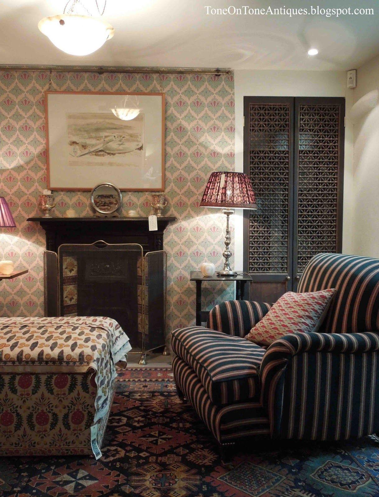 English Paneled Room: Interior, Bedroom Panel, English Interior