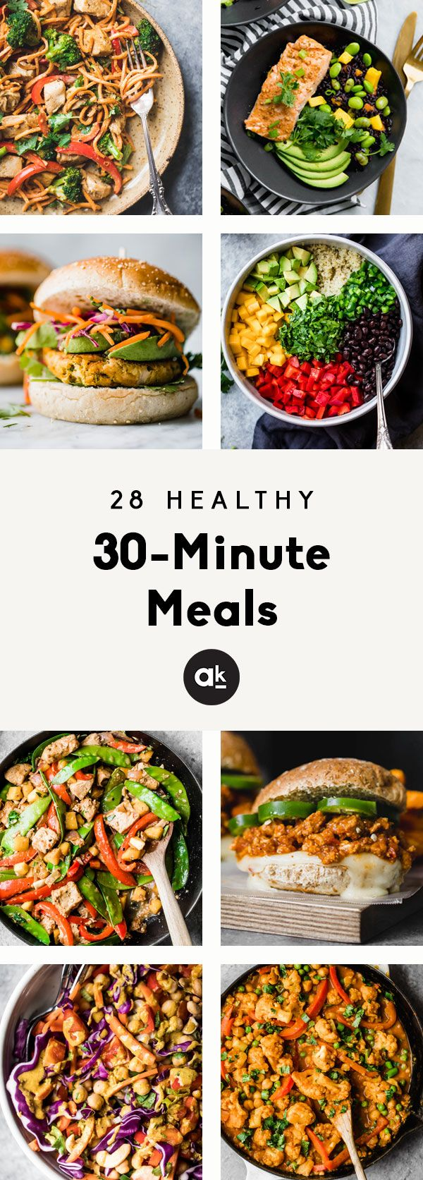 Healthy 30-Minute Meals to Make ASAP images