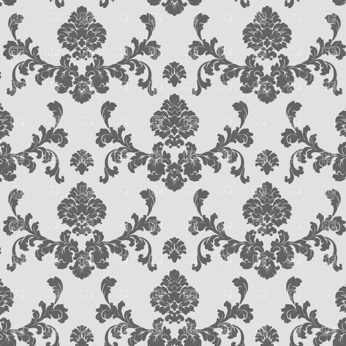 Classic seamless wallpaper pattern  Backgrounds  Textures  Abstract   download Royalty free vector clip art  eps. Random pattern    Classic Wallpaper Textures   Pinterest
