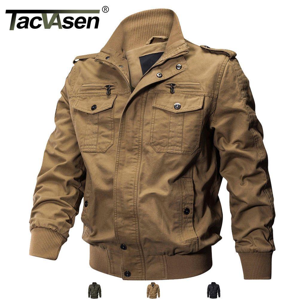 Tactical Men S Military Cargo Jacket Cotton Coat Army Winter Bomber Jacket Man Ebay Combat Jacket Mens Jackets Military Bomber Jacket [ 1000 x 1000 Pixel ]