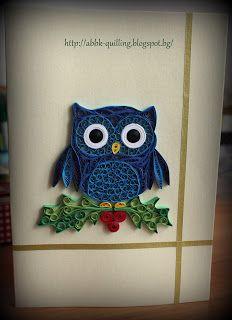 Bibsi - Quilling: Коледни картички (6) :)))