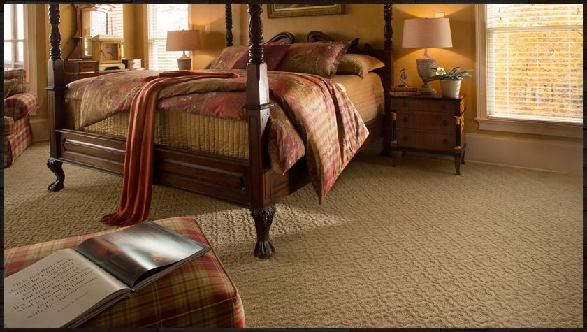 A Brand New Patterned Carpet From Mohawk Made With Smartstrand Silk Textured Carpet Patterned Carpet Home Decor