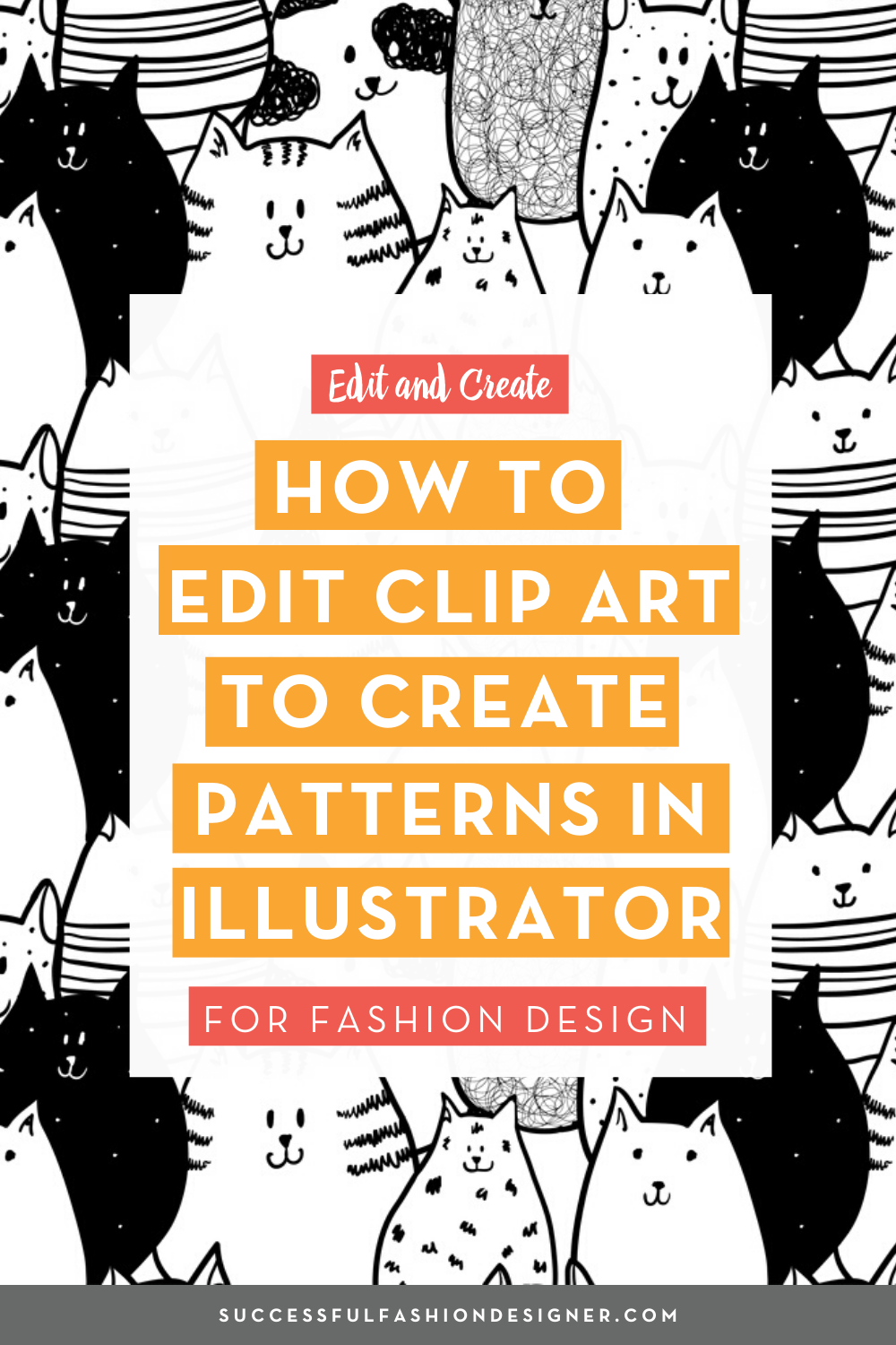 How to Edit Clip Art and Create a Repeating Pattern in