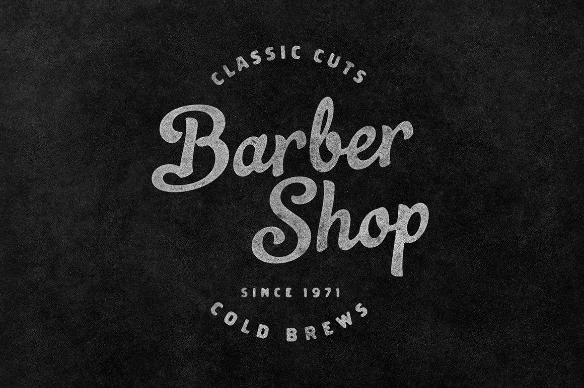 vintage american barber shop names Google Search