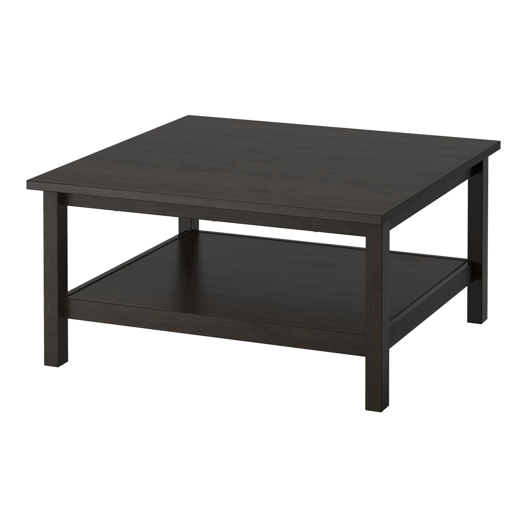 Ikea Coffee Table Outdoor: IKEA - HEMNES Coffee Table Black-brown