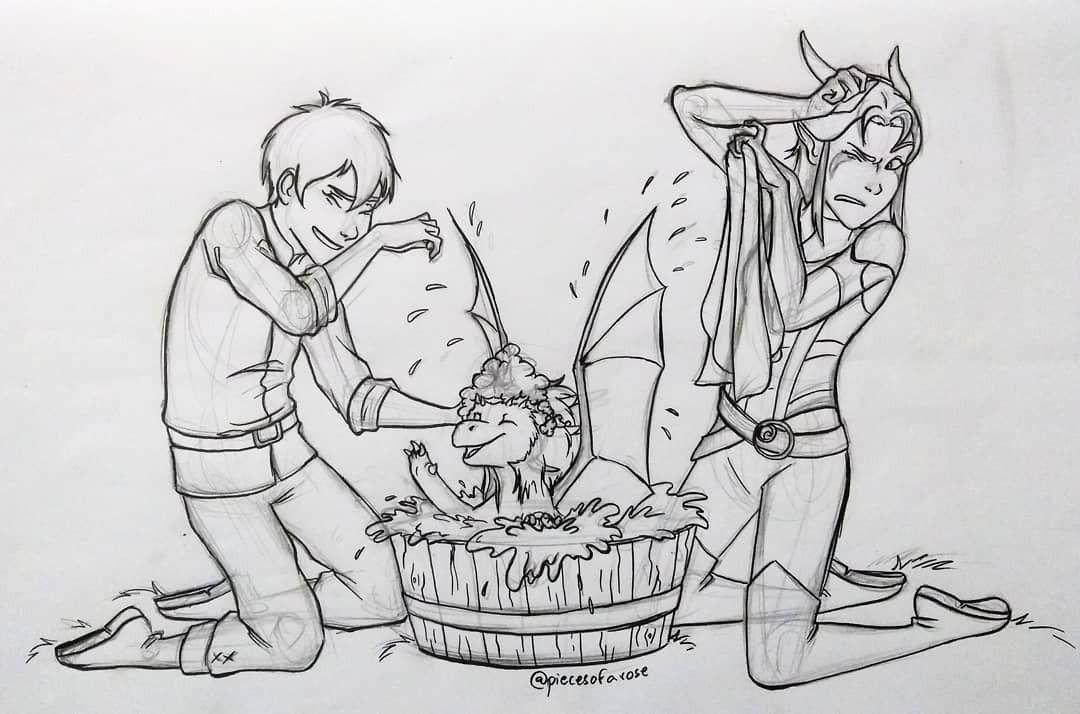 The Dragon Prince Callum Rayla And Zim Dragon Princess Prince Dragon Cartoon