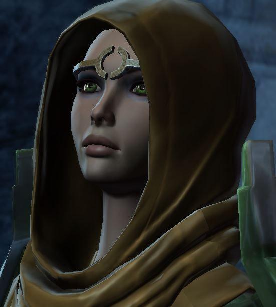 My Jedi Guardian, Arakhne. She's my favorite. <3