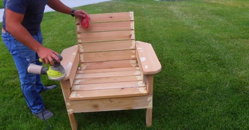 How To Build A Patio Chair Out Of Wood – Diy Outdoor Chair 400 x 300