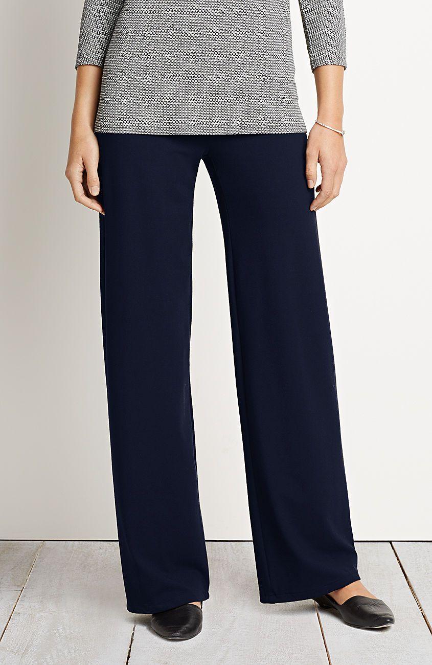 Wearever Smooth Fit Full Leg Pants From J Jill