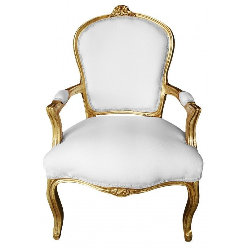 samantha french louis xv chair gold white | products | pinterest