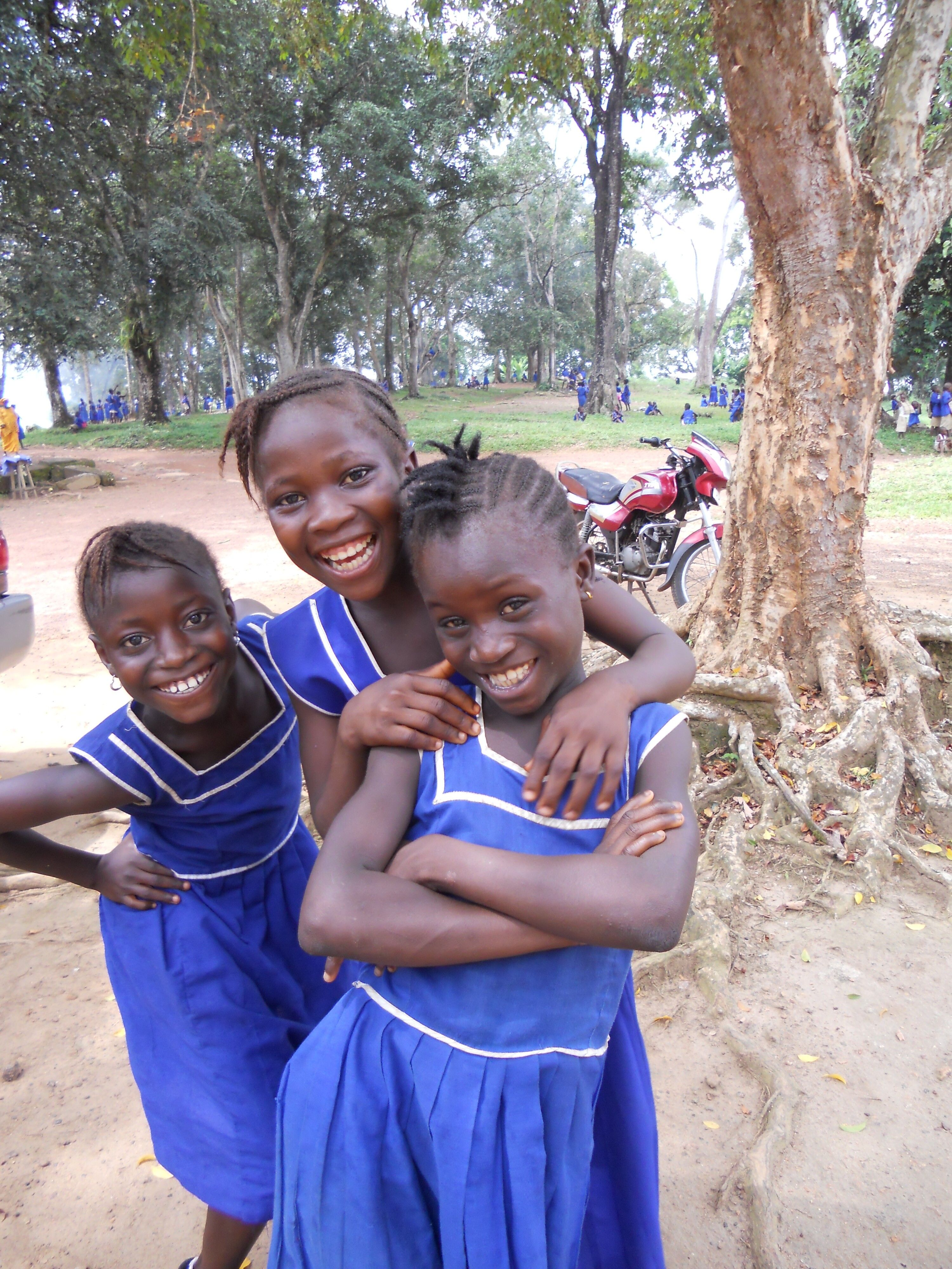 School Girls In Bo Httphelpingchildrenworldwideorg -3726
