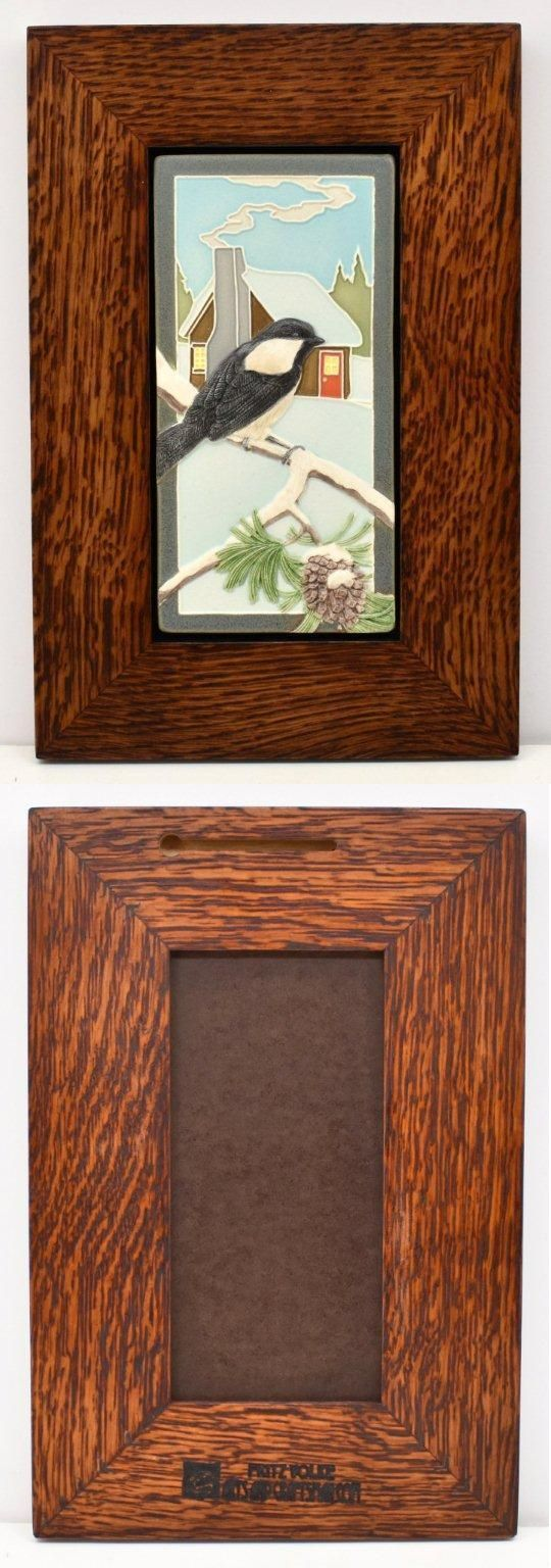Table D cor 168075: Framed Arts And Crafts Medicine Bluff 4X8 ...