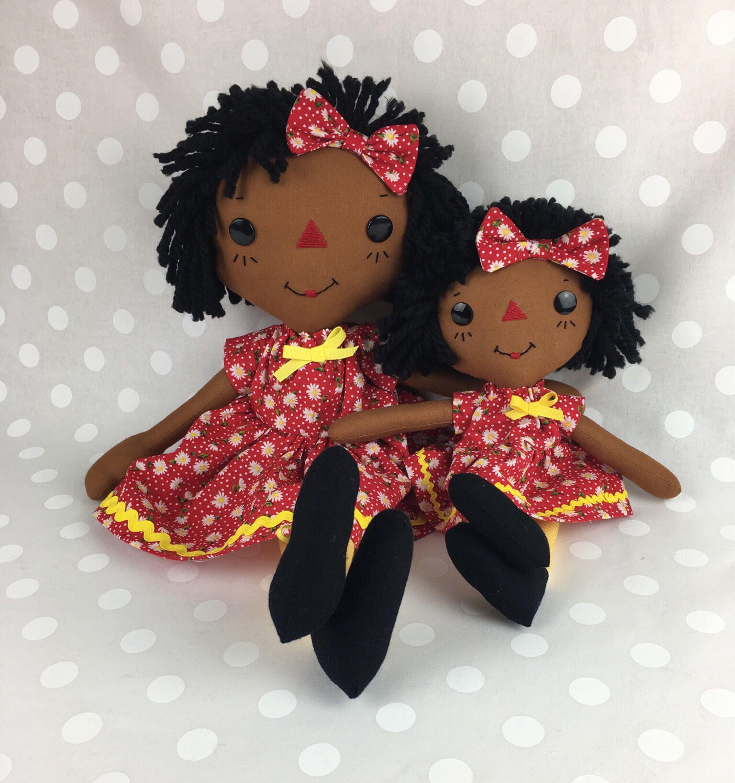 African American Doll Cinnamon Annie Raggedy Ann Doll