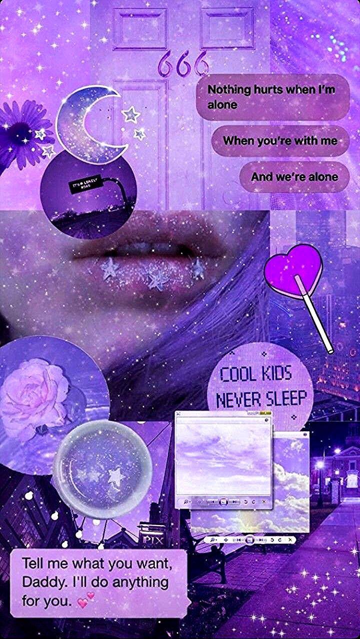 Pin By Wardah Balqiz On Ungu Aesthetic Iphone Wallpaper Aesthetic Pastel Wallpaper Purple Wallpaper Iphone
