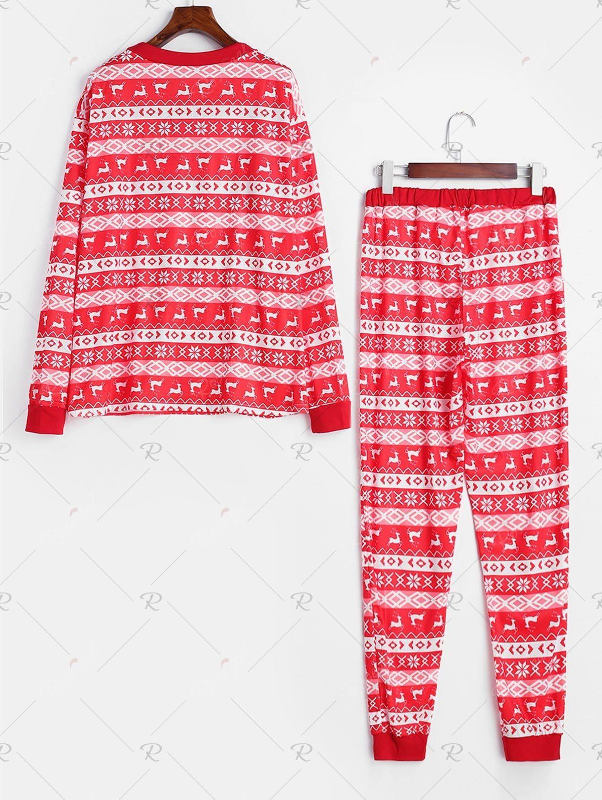 Full Print Matching Family Christmas Pajamas in 2020