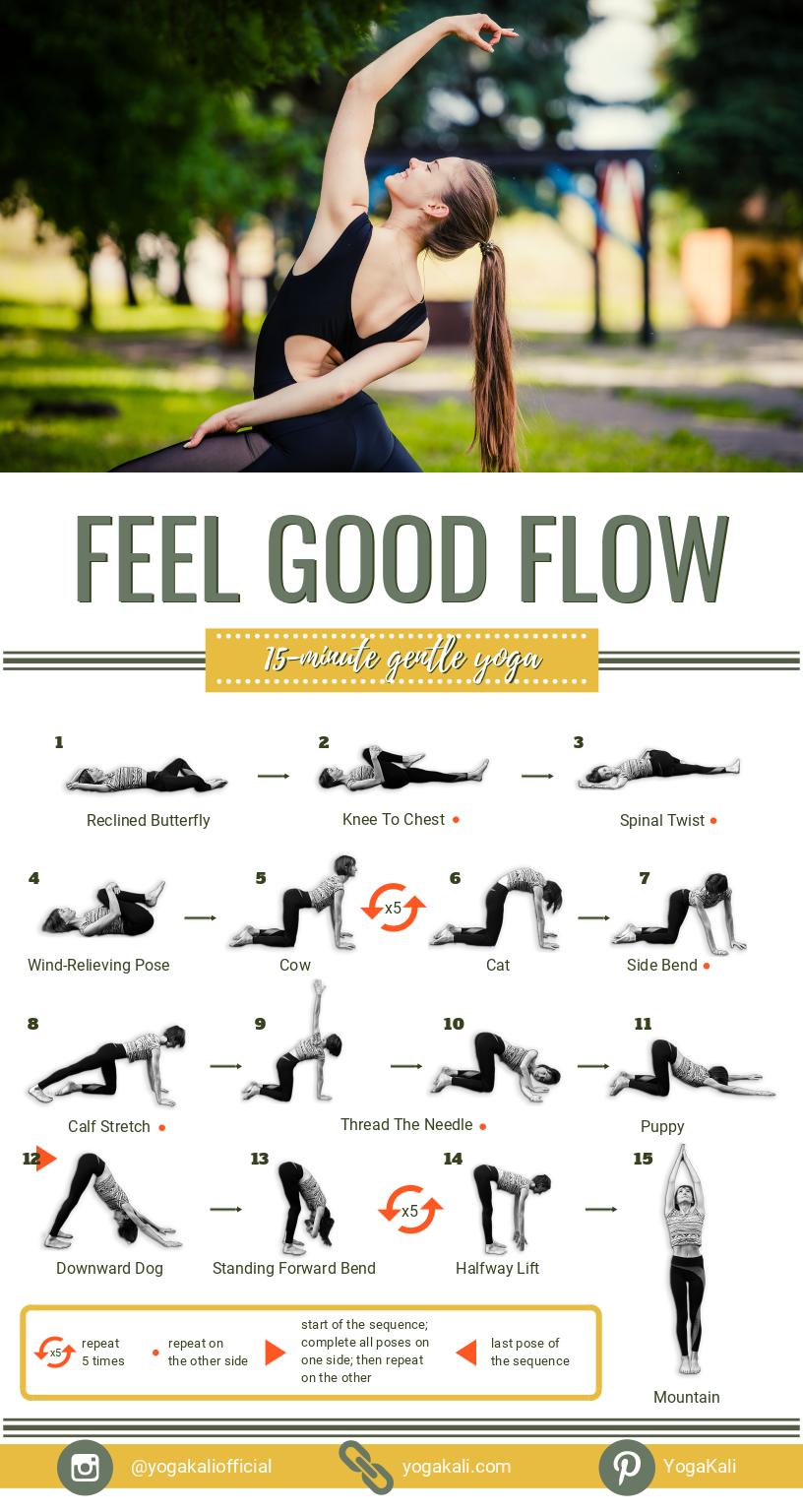 Ich habe diese kurze und sanfte Yoga-Routine genau für jene Tage geschaffen, als …