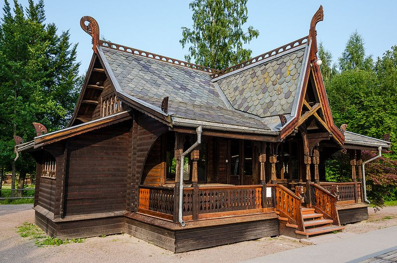 Traditional Norwegian House 1 Scandinavian Architecture Cabin Homes Viking Hall