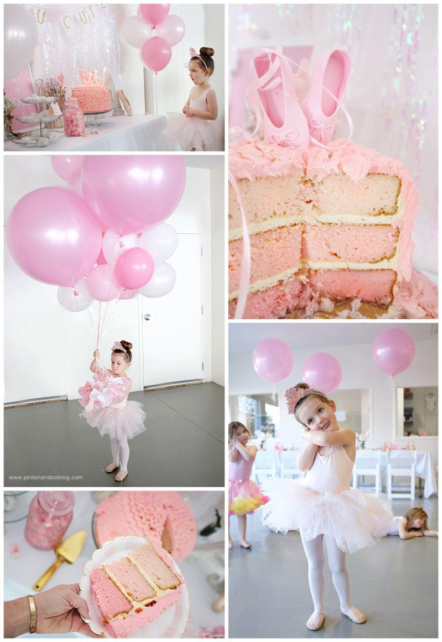 Ballerina Birthday Ballerina Birthday Party Decorations Ballerina Birthday Parties Ballerina Party Theme