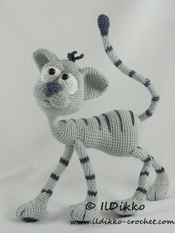 Amigurumi Crochet Pattern - Kit the Cat   Patrones amigurumi ...