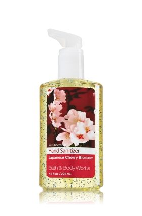 Japanese Cherry Blossom Sanitizing Hand Gel Anti Bacterial