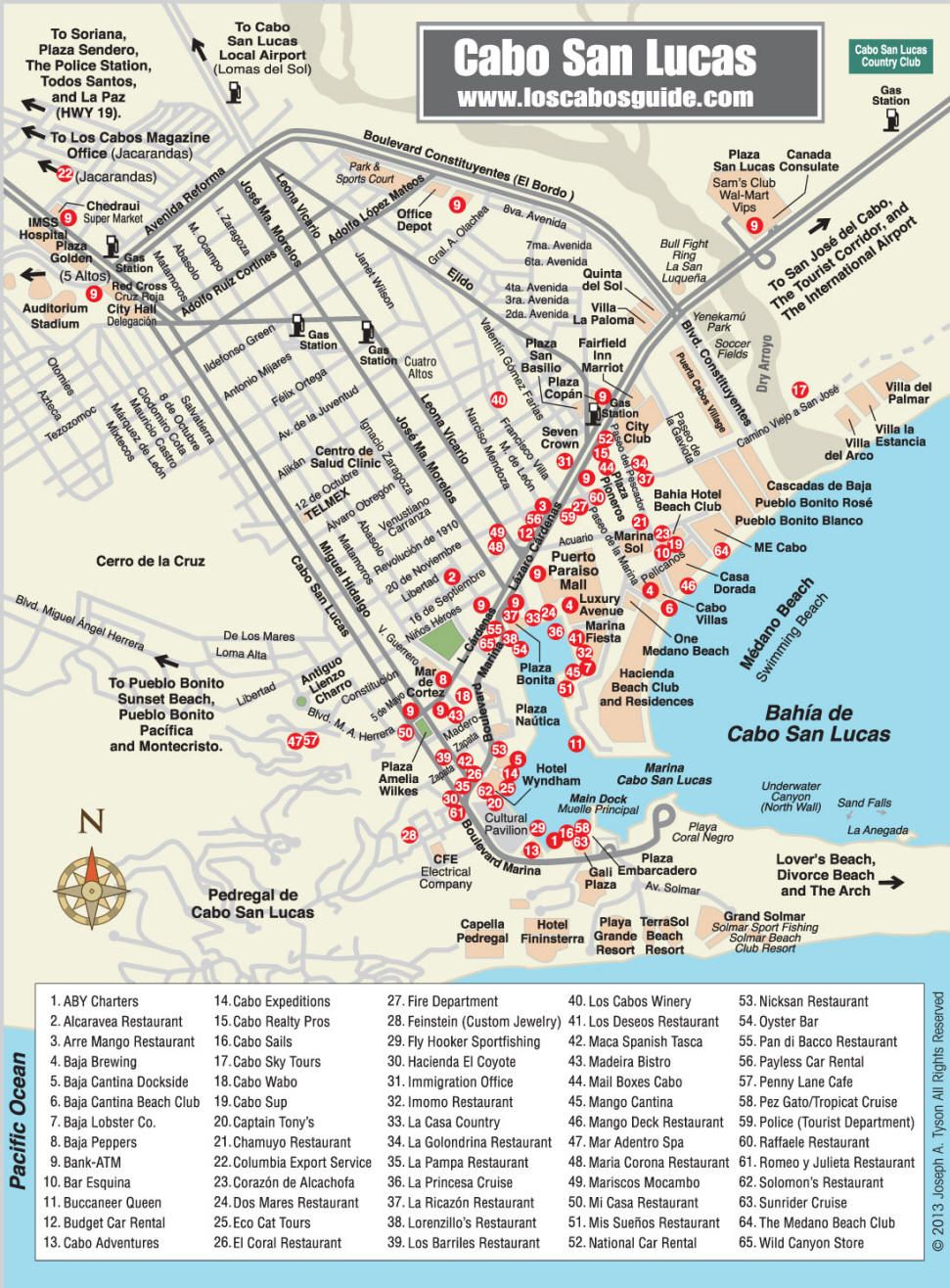 cabo san lucas map los cabos guide worth saving this guide for my next trip