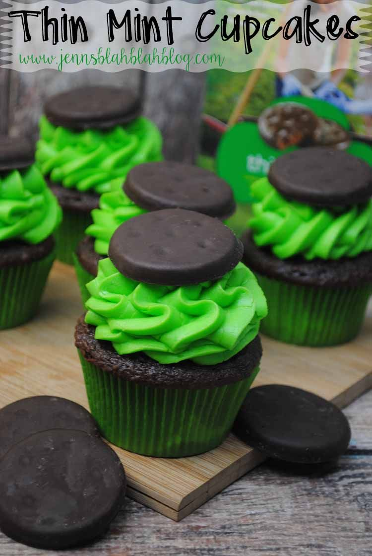 Thin Mint Cupcakes Recipe Thin Mint Cupcakes Yummy Cupcakes