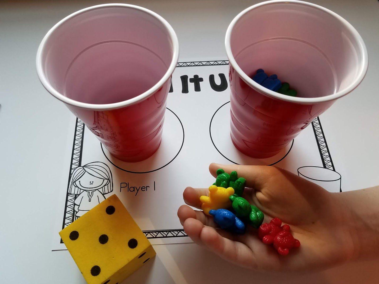 14 Dice Games For Kindergarten Math