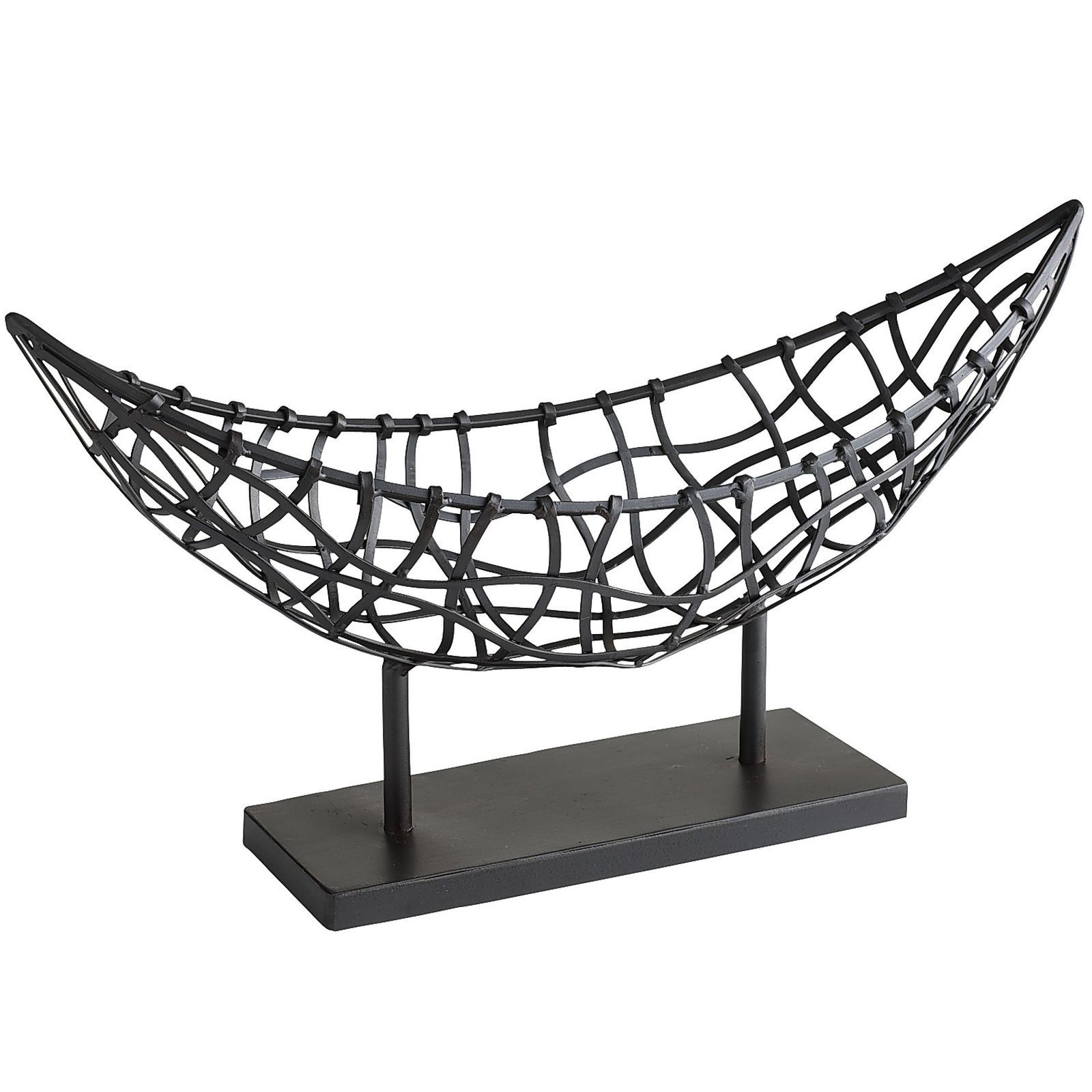 Nomad Black Weave Metal Boat Basket is part of Metal Home Accessories Inspiration -