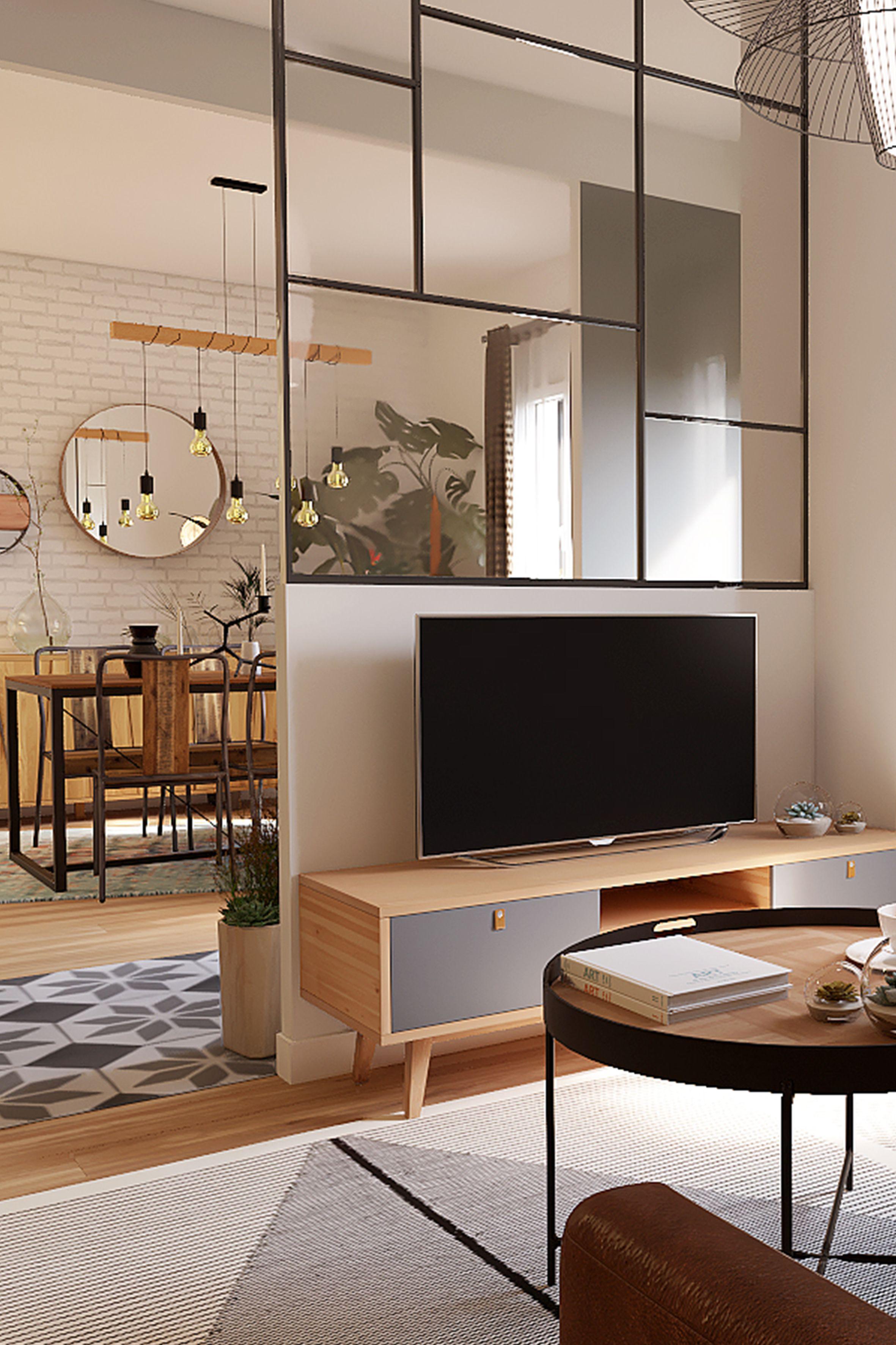 Salon Cuisine Style Industriel battle dÉco 6 : décorer une pièce de vie style industriel