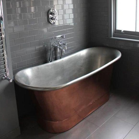 Cape Town S Premium Tile Retailer House Bathroom Cast Iron Bath Copper Bath