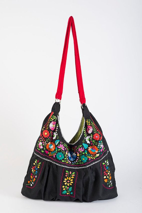 39ad21ab838 Mexican Bag/Mexican Embroidered Bag/Puebla Embroidered/Mexican Dress ...