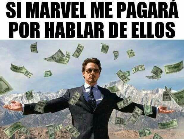 :3 MARVEL MEMES :v – dinero, dinero