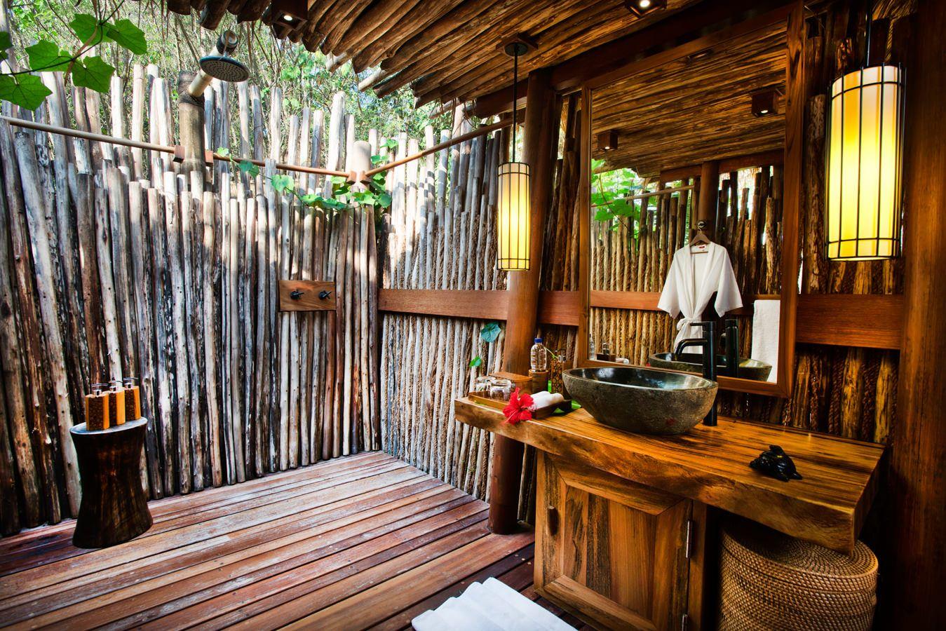 Outdoor Bathroom  Google Search  Alternative Housing Ideas Extraordinary Luxury Outdoor Bathrooms Inspiration Design