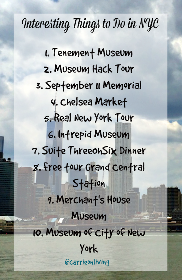 Interesting Things To Do In Nyc City East Coast And