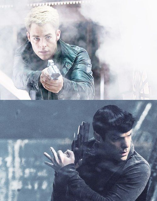 Kirk and Spock (Star Trek Into Darkness)