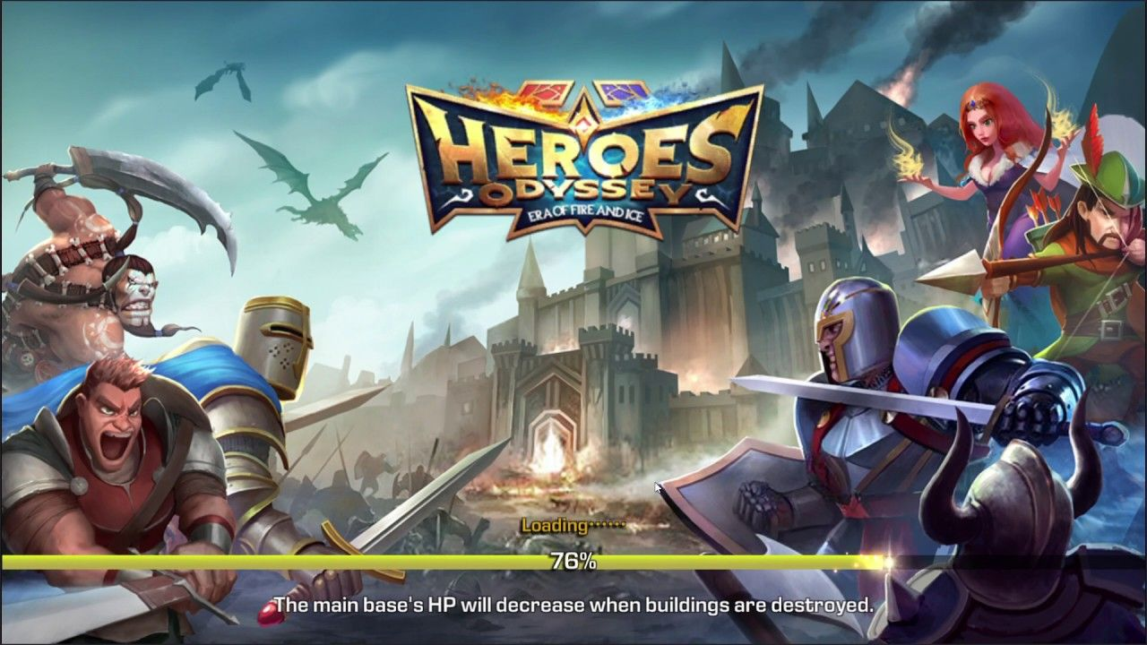 Heroes Odyssey Era of Fire and Ice GAME play Heroes