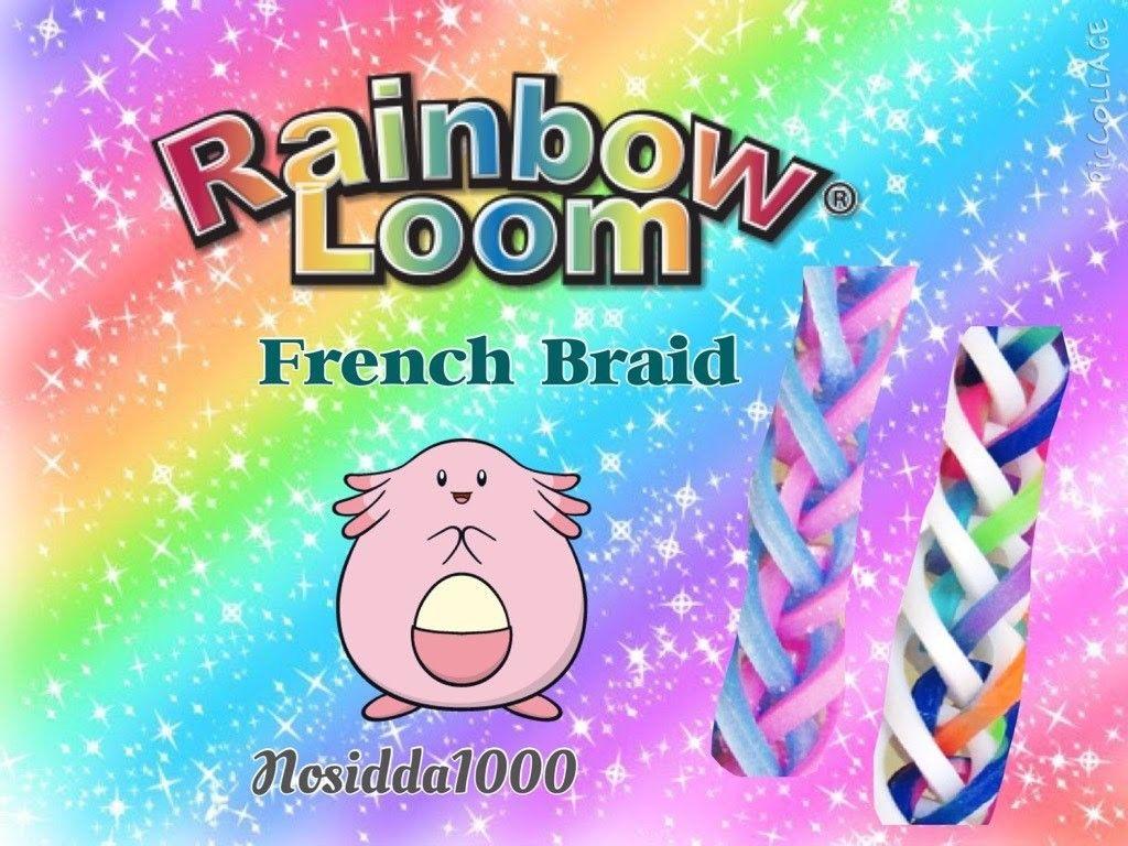 Rainbow Loom Tutorial French Braid