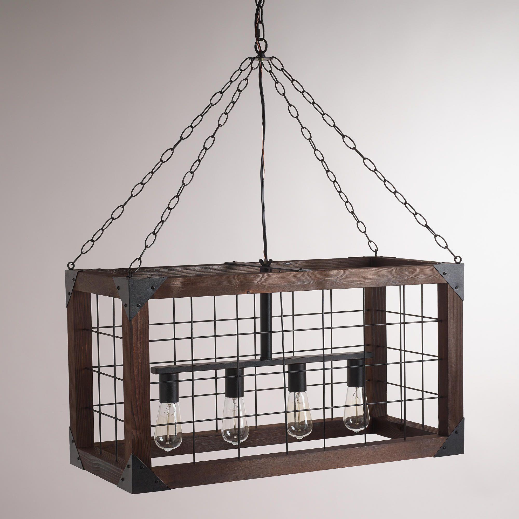 Rectangular Farmhouse Pendant Lamp | World Market | # ...